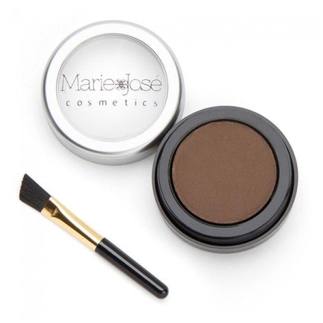 Augenbrauenpuder in der Farbe Mittelbraun von Marie-José Cosmetics  #Augenbrauen