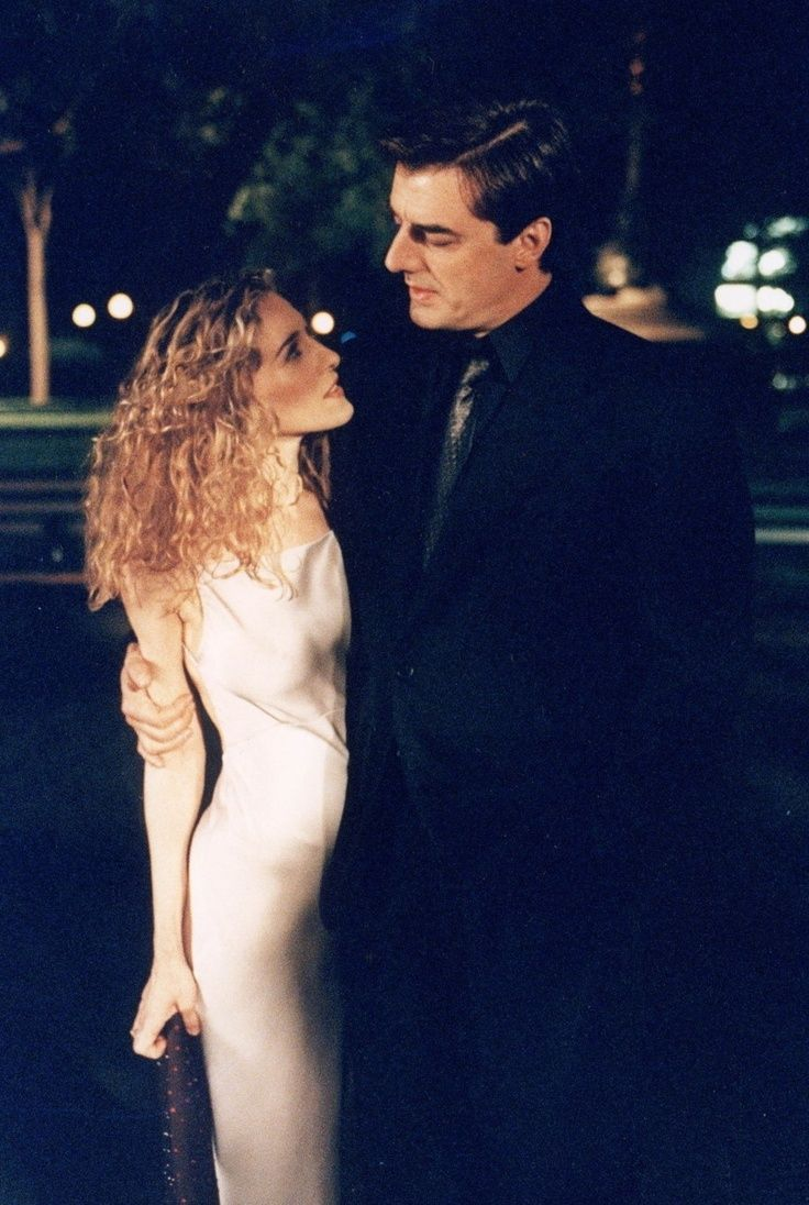 "Carrie Bradshaw & Mr Big- ""Don't you wanna stand still with me?"""
