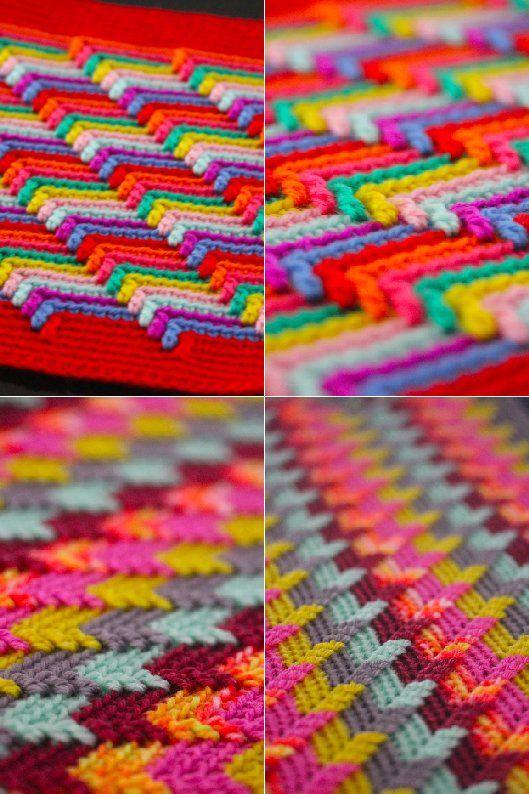 Crochet : Apache Tears ; free pattern