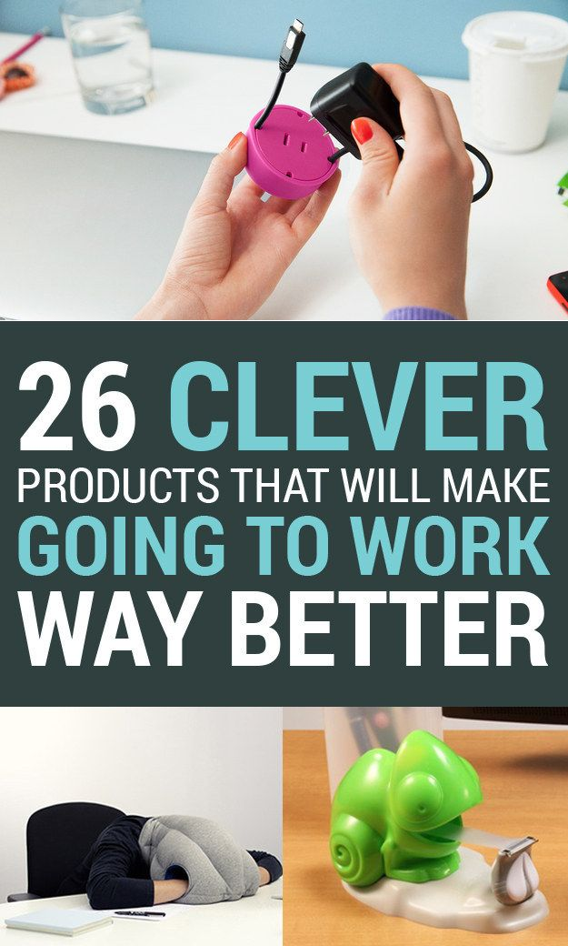 26 Clever Products That Will Make Your Office So Much Better