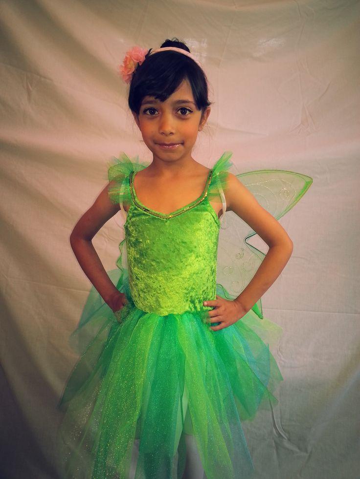 The green tinkerbell dress