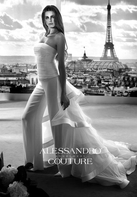 Alessandro Couture 2012, abiti da sposa colorati e corti
