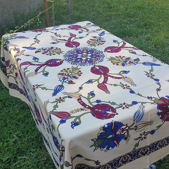 Hey, I found this really awesome Etsy listing at https://www.etsy.com/listing/468141165/tablecloth-hand-painting-cotton-linen