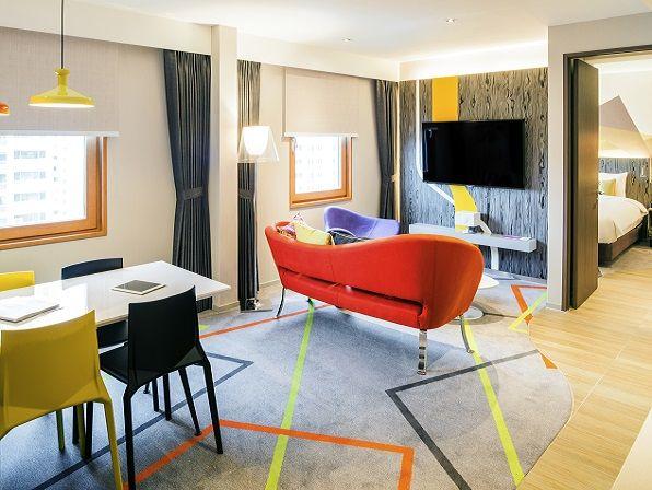 이비스 스타일 앰배서더 서울 강남 호텔 / 슈페리어 스위트 룸 / ibis Styles Ambassador Seoul Gangnam Hotel / Superior Suite Room