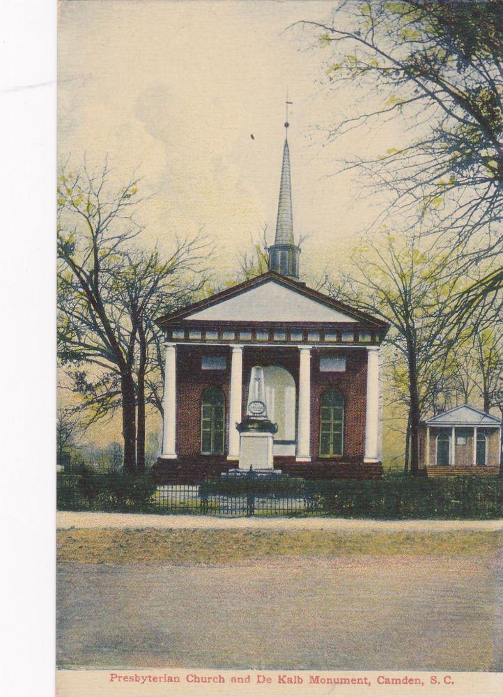 Presbyterian Church & De Kalb Monument, Camden, South Carolina, 00-10s