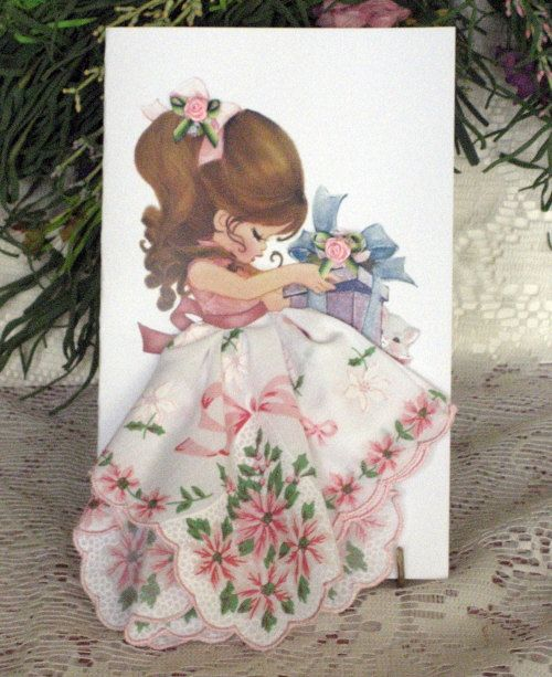 Little Lady Christmas Birthday by onceuponahanky on Etsy, $8.00