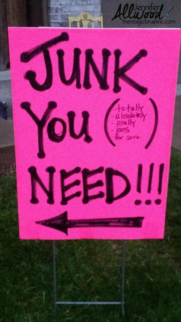 17 Best ideas about Garage Sale Signs on Pinterest   Yard sale ...