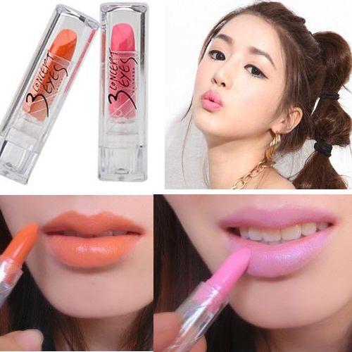 Free Shipping Fashion Mini Sexy Glam Moisturized Lipstick: Makeup
