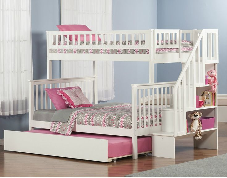 Atlantic-Furniture-Woodland-Twin-Over-Full-Bunk-Bed-with-Twin-Urban-Lifestyle-Trundle-and-Staircase-AB5675.jpg (1036×812)