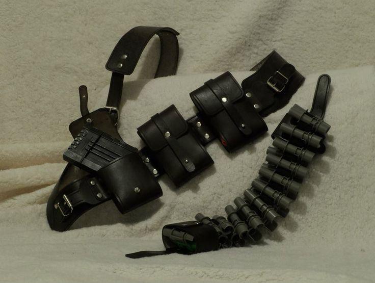 Modular leather bandolier