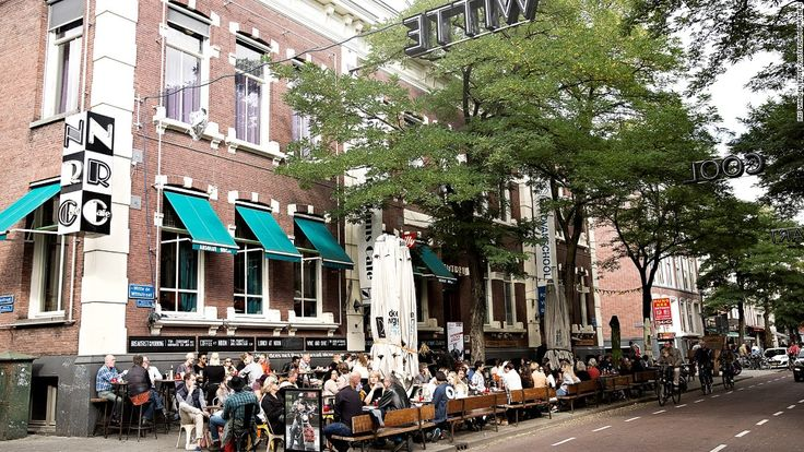 Witte de Withstraat is the heart of Rotterdam's nightlife scene as well as home to a number of galleries, cafes and restaurants.
