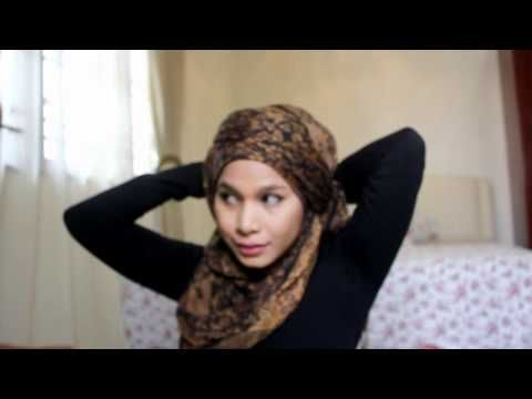 Turban style #Hijab #tutorial