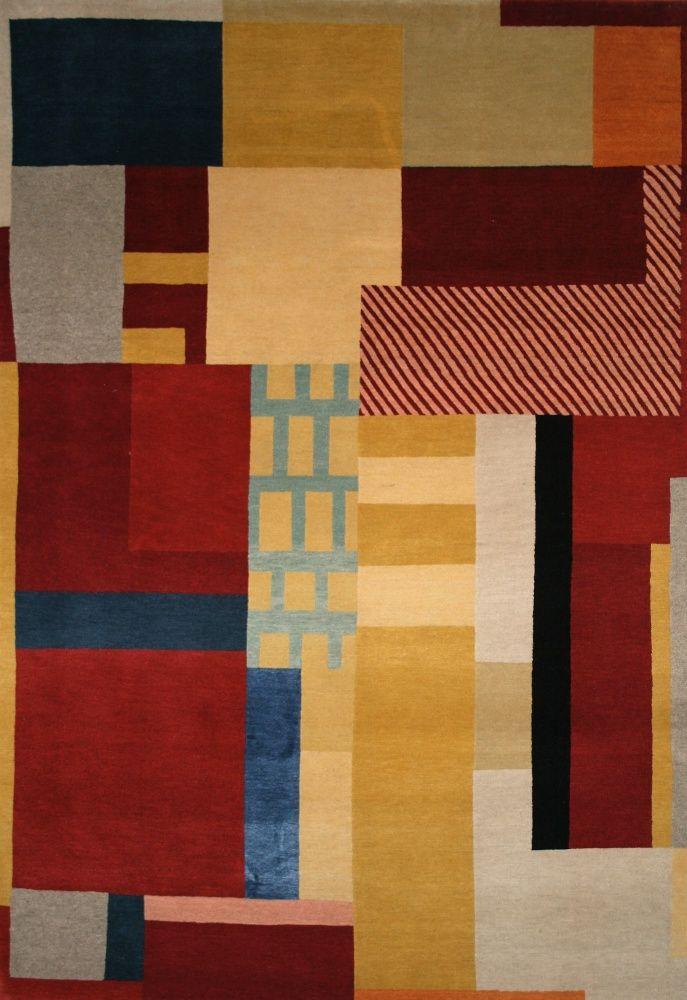 Bauhass by Bazaar Velvet Contemporary Rugs