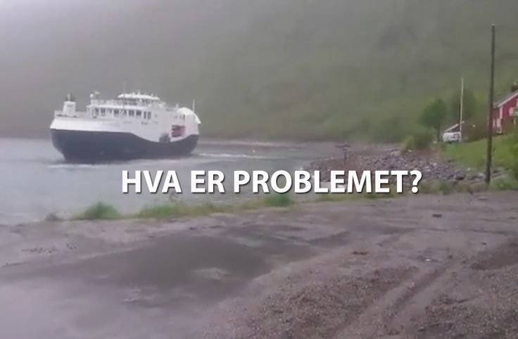 MF «Bergsfjord» og MF «Hasvik» – Hva er problemet?
