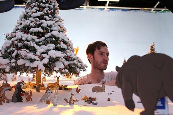 これ全てストップモーションてマジ!? 美しい情景のなかで動物たちがイキイキと動き出すディズニー風アニメがスゴイ!