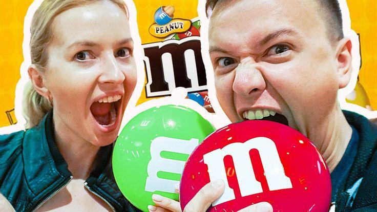 САМЫЙ БОЛЬШОЙ M&M's МАГАЗИН В МИРЕ! Эм Энд Эмс конфеты, сладости, шокола...