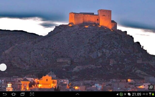 Castillo de Mula Murcia.Spain.