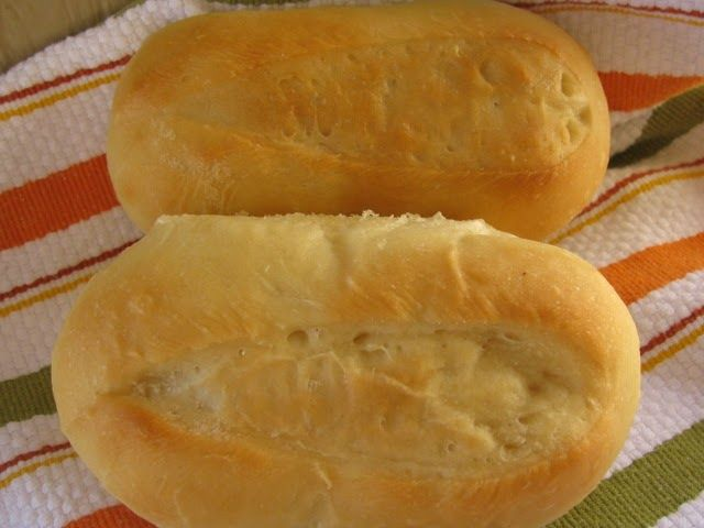 Hoagie Buns from Taste of Home  (printable recipe)  These homemade buns provide a excellant way to serve my Italian Meatball Subs.  SERVING...