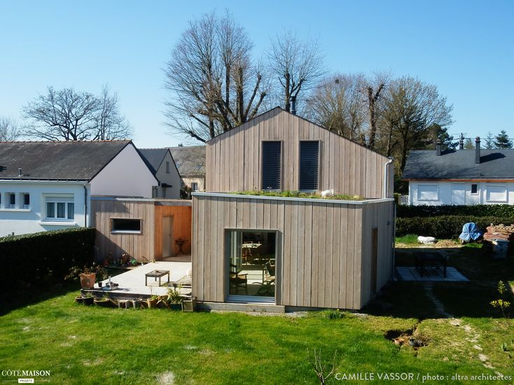 1000 images about maison maisons on pinterest cottage for Simulation agrandissement maison