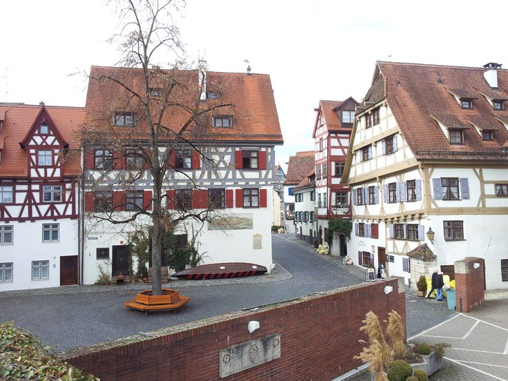 Corners of the city in Ulm