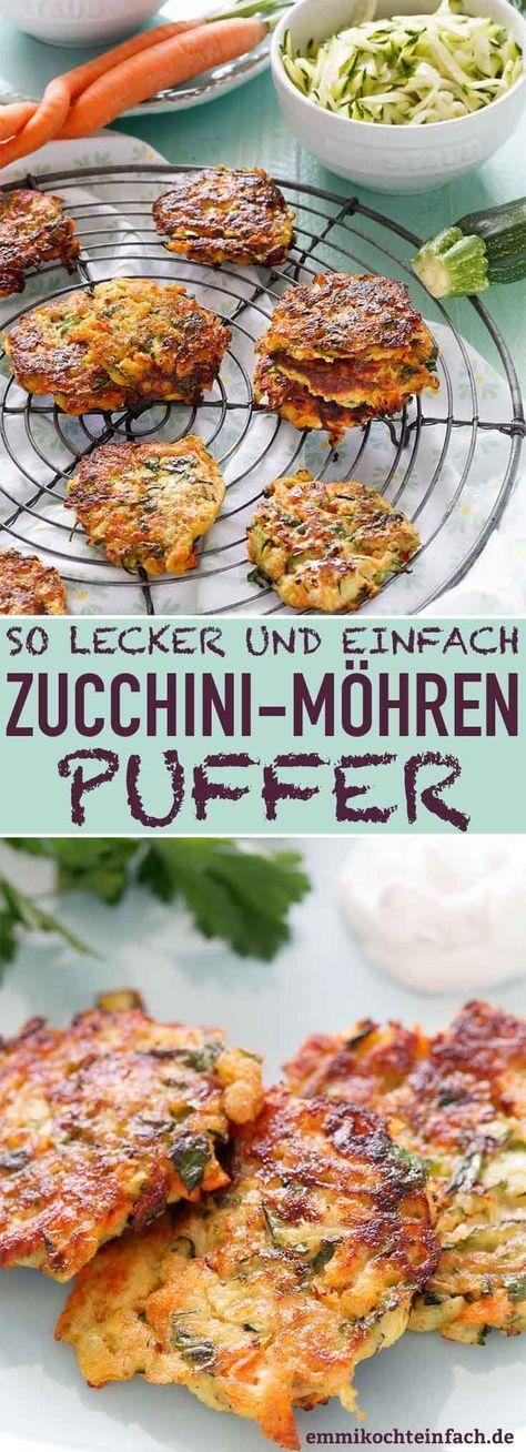 Buffers de cenoura com abobrinha – os deliciosos buffers de vegetais   – Essen und trinken