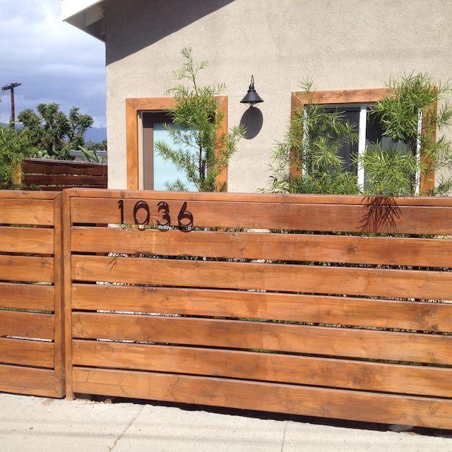 best 25 horizontal fence ideas on pinterest