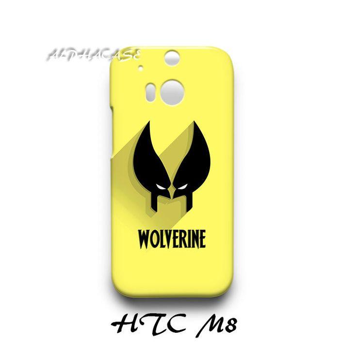 Wolverine Superhero HTC M8 Hardshell Case
