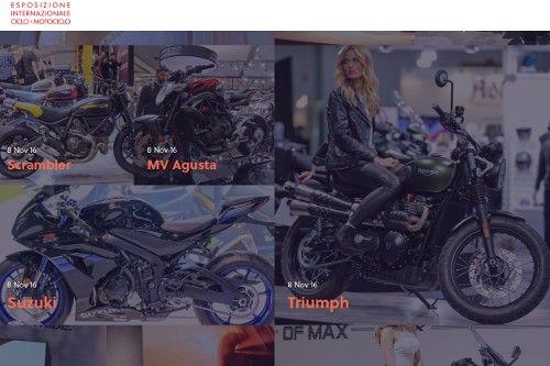 EICMA 2016 – Esposizione internazionale del ciclo e motociclo