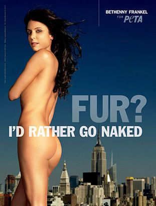 Bethenny the Advocate: Ad for PETA