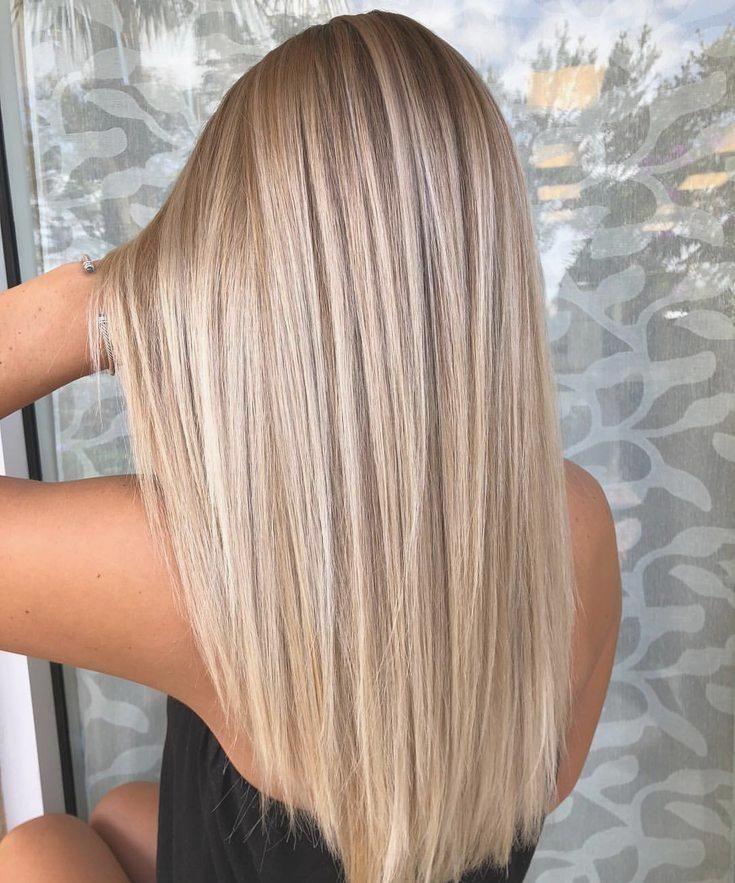 Bilder blond haarfarbe braun 50 Stilvolle