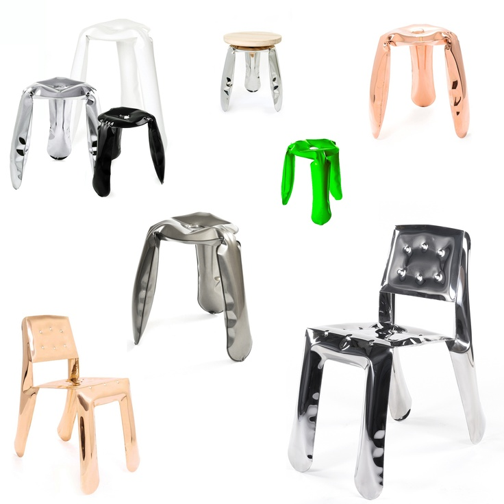 The unique, toy-looking and playful shape of Plopp is an effect of an innovative forming method – FIDU. FIDU technology means that two ultra-thin steel sheets are welded together around their edges and inflated under high pressure to give a 3d object.