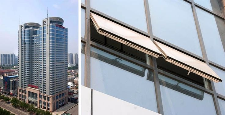 High Quality Aluminum Double Glazed Curtain Wall For Commercial Buildings