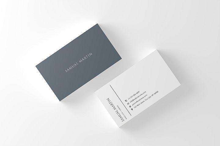 Beautiful Simple Classy Modern Business Card Business Card