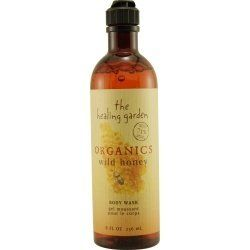 HEALING GARDEN ORGANICS by Coty WILD HONEY BODY WASH 8 OZ for UNISEX by Coty USA. $6.99. 71% Certified Organic. Organic Aloe soothes and softens. Organic wild honey combines with organic aloe vera to moisturize and condition skin. Rare product ~ No longer produced or carried in retail stores. No artifical colors * Dermatologist-tested * pH-balanced. Year Introduced  Recommended Use