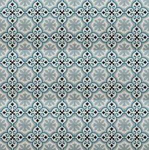 Siesta Cement Encaustic Tiles - Encaustic Victorian Tiles   Rebecca Hayes Interiors