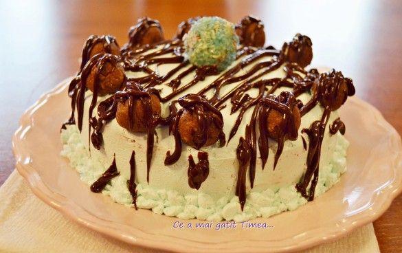 tort cu ciocolata si rom 1
