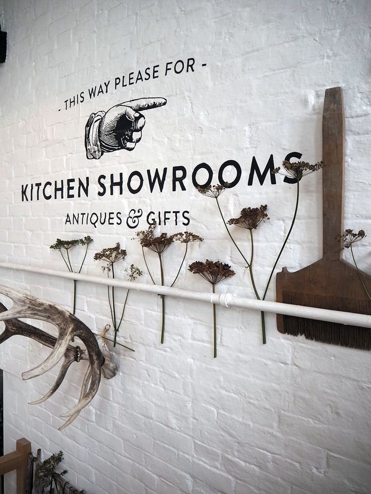 This way please, for kitchen showrooms, antiques & gifts