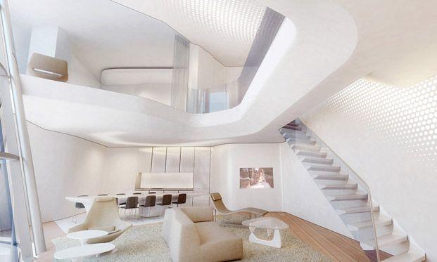 Заха Хадид оформит интерьеры Opus Tower