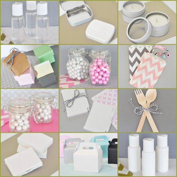 New DIY Blank Party Favors from HotRef.com