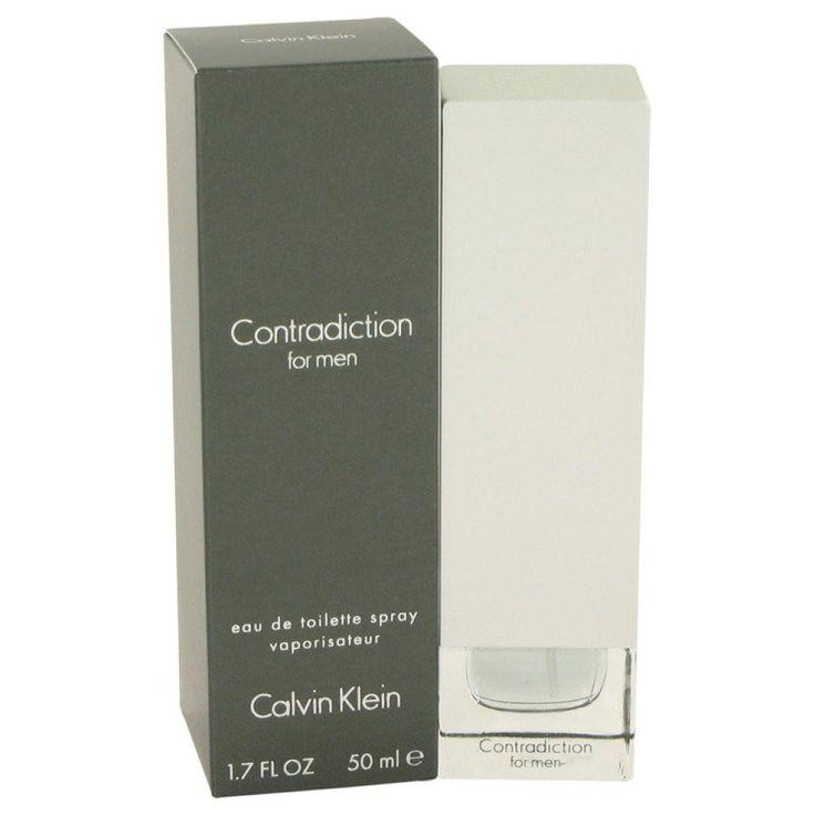 Contradiction By Calvin Klein Eau De Toilette Spray 1.7 Oz