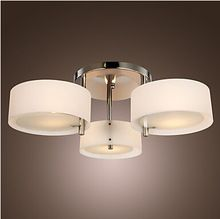 Lámpara moderna 3 luces de la sala dormitorio de la lámpara de la luz del celling restaurantes y-99632(China (Mainland))