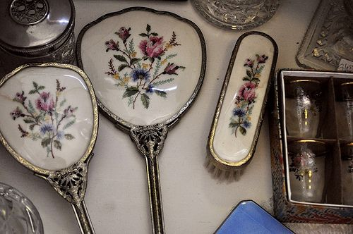 1000 Images About Antique Comb Brush Mirror Sets On