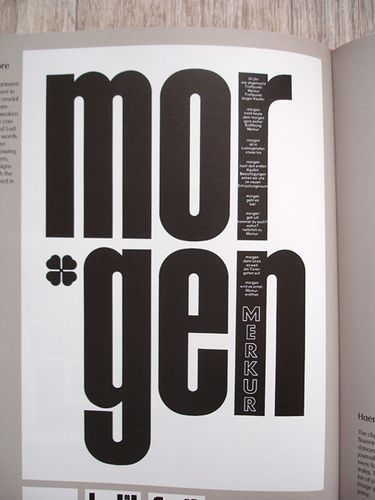 Karl Gerstner: Review of 5x10 years of graphic design by insect54, via Flickr