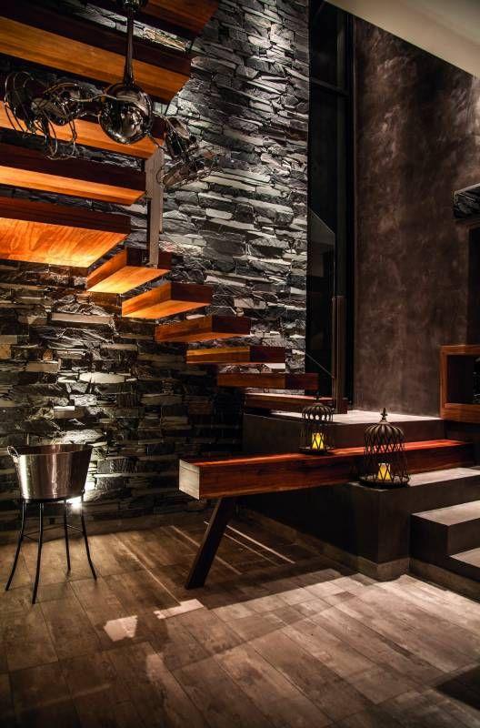 M s de 25 ideas incre bles sobre revestimiento simil for Piedra para muros interiores
