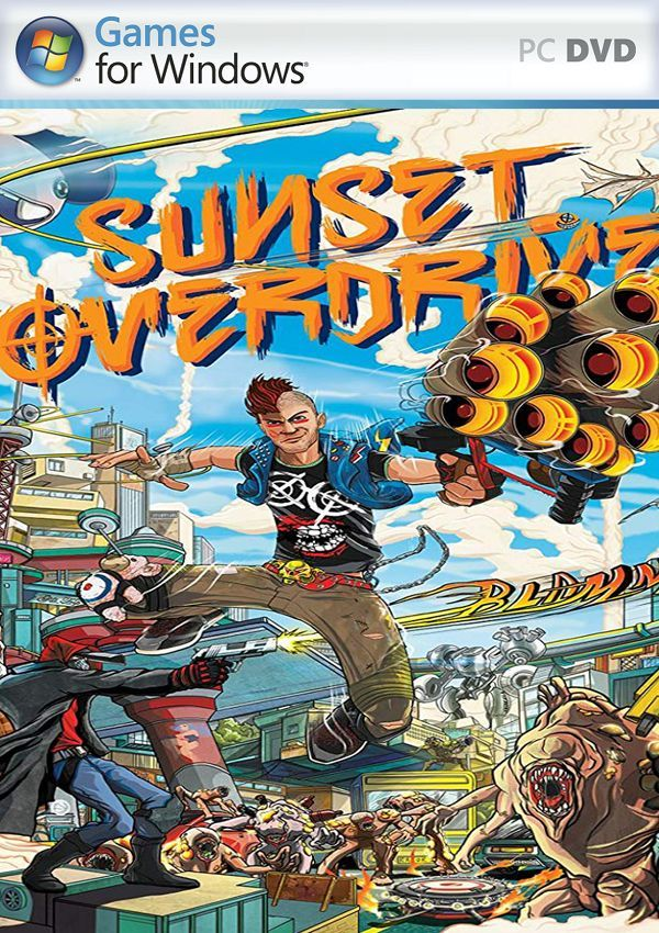 Sunset Overdrive Free Download With Images Sunset Overdrive