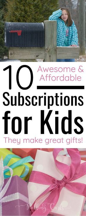 Looking for something fun for your kids -- help them learn and enjoy topics they alerady have an interest in -- don't miss these awesome subscriptions for kids!