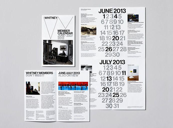 Whitney Museum Graphic Identity