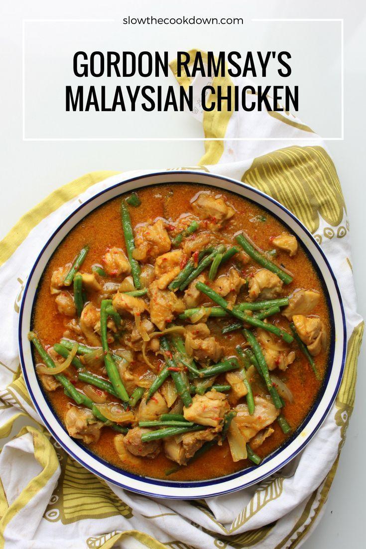 Gordon Ramsay's Malaysian Chicken