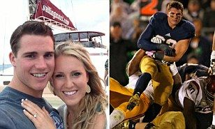 Ridiculously photogenic college football player Cam McDaniel | Daily Mail Online