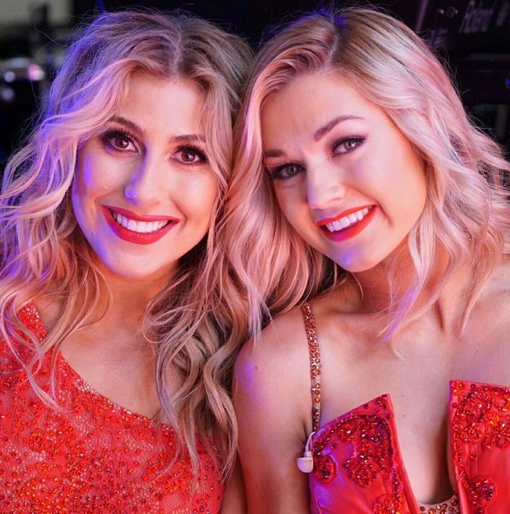 Emma and Lindsay DWTS
